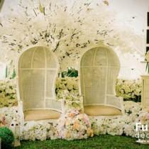 Dekorasi pernikahan fuchsia decoration wedding decoration vintage elegant wedding junglespirit Image collections