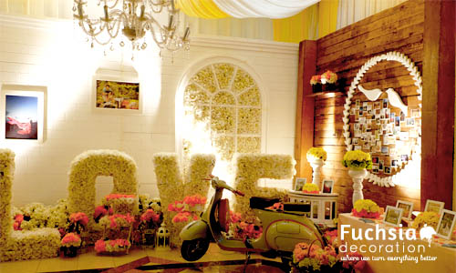 Fuchsia decoration wedding decoration event decoration indonesia weddingdecoration9 junglespirit Choice Image