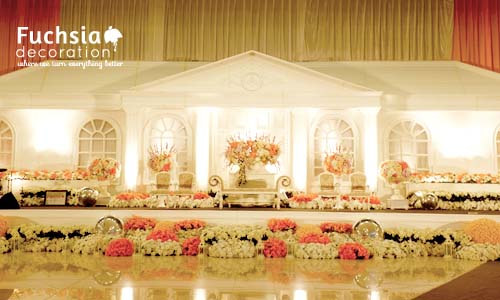 Fuchsia decoration wedding decoration event decoration indonesia weddingdecoration55 junglespirit Gallery
